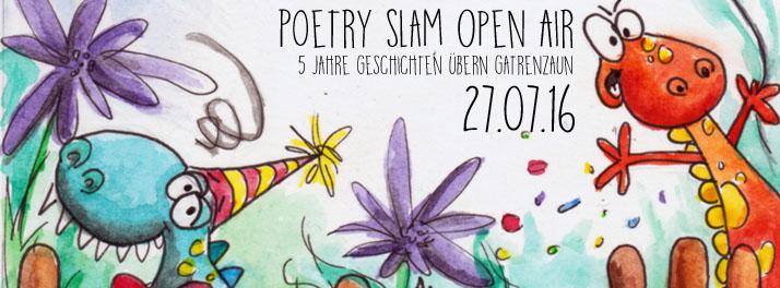 Petry Slam Open Air am 27.07.16